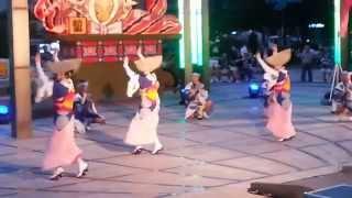 한일축제한마당 2014 - 아와오도리-기쿠노카이무용단 -日韓交流おまつり