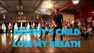 Destiny's Child - Lose My Breath | Hamilton Evans Choreography