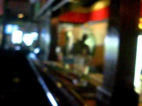 Having a Guinness at O'Haras Irish Pub – Nelspruit – South Africa – January 2011