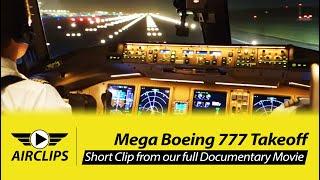 Lufthansa Cargo Boeing 777-200F Night Takeoff from Tokyo Narita towards Seoul Incheon [AirClips]
