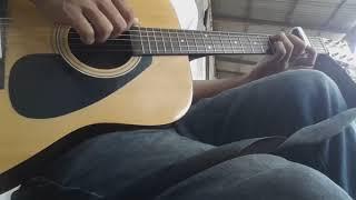 """Test suara guitar f310 yamaha original """" Fingerstyle """" River flows in you """" yiruma"""