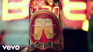 Toby Keith - I Like Girls That Drink Beer (Lyric Video)