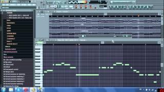 Na Kráľovej Holi Techno remix (FL Studio 8)