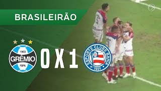 GRÊMIO 0 X 1 BAHIA - GOL - 16/10 - BRASILEIRÃO 2019