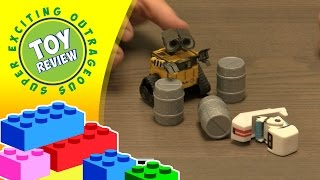Disney Pixar Wall-E & M-O robot figures - Toy Review