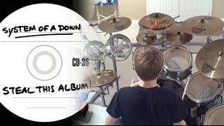 Kyle Abbott - System of a Down - Streamline (Drums Cover)
