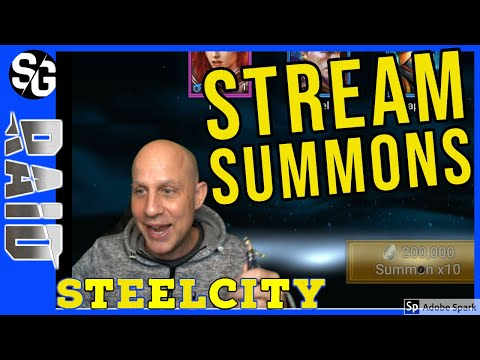 RAID SHADOW LEGENDS | SUMMONS HITTING LEGOS | STEELCITY