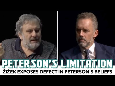 Zizek Exposes Defect In Jordan Peterson's Beliefs