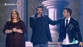 """Antonio Orozco y Finalistas: """"Estoy Hecho De Pedacitos De Ti"""" - Final - La Voz 2016"""