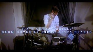 SIA - CHEAP THRILLS - DRUM COVER - JOHAN ALVES DUARTE HD (HQ)