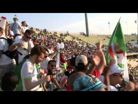 Les supporters de deuxième match
