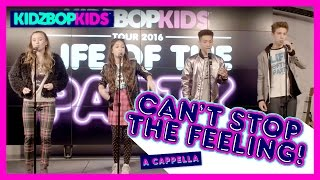 "KIDZ BOP Kids - ""Can't Stop The Feeling!"" A Cappella (Live at YouTube Space NY) [KIDZ BOP 33]"