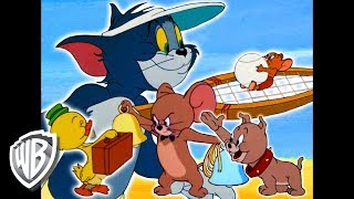 Tom & Jerry | It's Summer Time! | Classic Cartoon Compilation | WB Kids width=