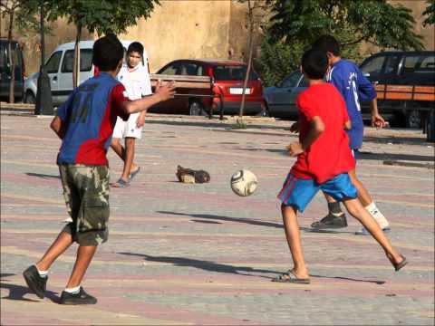 street football meknes morocco place lalla aouda
