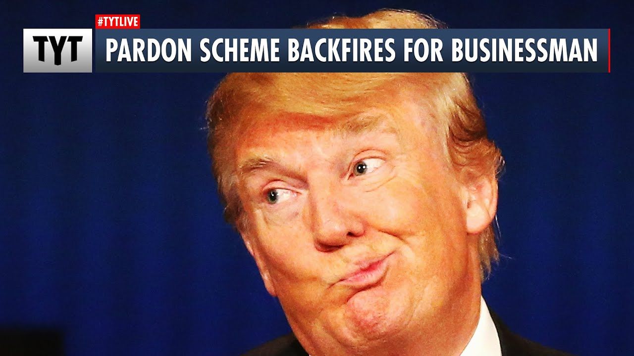 Geoff Robinson - This Sucker Paid Trump Crony For a Pardon That He Didn't End Up Getting
