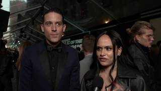 The Fate Of The Furious FF8 World Premiere  GEazy Kehlani