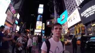 Alone in New York by Vladimir Diukar, Music: Snow Patrol - New York
