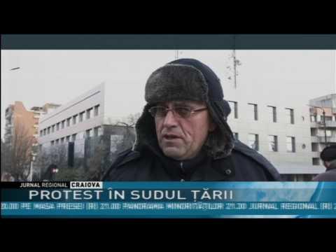 PROTEST ÎN SUDUL ŢĂRII