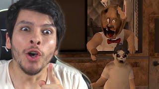 GRANNY SE TRANSFORMÓ EN UNA HELADERA CREEPY !! WTF - Ice Scream 2 (Horror Game)