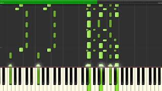 Minecraft Song - Girls Know How To Fight ♫How To Play♫ Piano Tutorial Synthesia