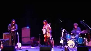 Rhiannon Giddens playing the bones 5.2.17