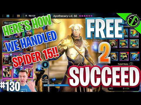 How I Cleared Spider 15 For Arbiter Missions | Free 2 Succeed - EPISODE 130