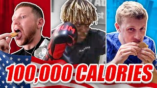 SIDEMEN 100,000 CALORIES IN 24 HOURS CHALLENGE (USA EDITION)