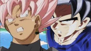 Goku Ultra Instinct VS Black Goku SSJ Rose (悟空ウルトラインスペクトVS黒獄SSJローズ)