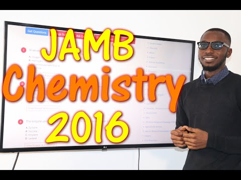 JAMB CBT Chemistry 2016 Past Questions 1 - 20