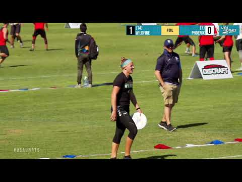 Video Thumbnail: 2019 National Championships, Women's Pool Play: San Diego Wildfire vs. Raleigh Phoenix