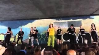 QUE SUENEN LOS TAMBORES-Zumba actuacion ITZIAR VALLS y alumn@s 23.04.2016