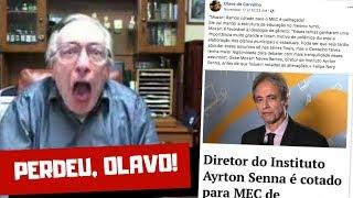 BOLSONARO INDICA MINISTRO DA EDUCAÇÃO: NÃO SERÁ UM OLAVISTA! │ OLAVO DE CARVALHO │ HENRY BUGALHO