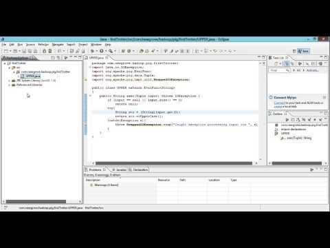 Creating a Java UDF for PIG - Eclipse Beginners Guide