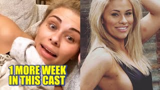 Paige VanZant Says She Will Be Out Of Arm Cast Next Week | Also Gives Timeline For UFC Return