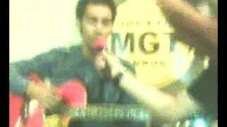 Gamaliel - Cuma Aku @ Sanade Cafe w/ MGT radio