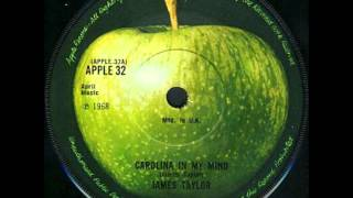 Carolina In My Mind (James Taylor Cover) audio only