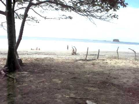 View of Nica Jeep's Campsite @ Playa Hermosa