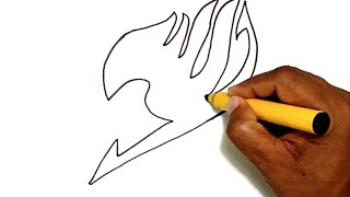 How to Draw the Fairy Tail Logo