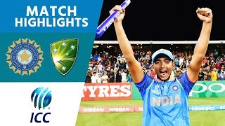 HIGHLIGHTS: India beat Australia to win the 2018 U19 Cricket World Cup width=