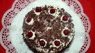 Torta Floresta Negra - Schwarzwälder Kirschtorte - Receitas bolos e tortas Ep. 7