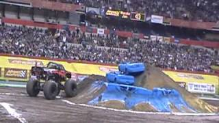 Bad Habit Freestyle at Monster Jam at the Carrier Dome in Syracuse, NY