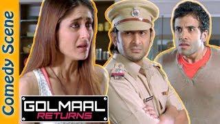 #Shemaroo indianComedy - Golmaal Returns Comedy Scene - Arshad Warsi - Ajay Devgn - Kareena width=