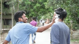 Throwing Pie In The Face Prank! (1st Bangladesh) KitePrank Tv
