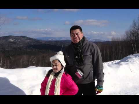 Nicaraguan Family at Boston-New Hampshire Vacation