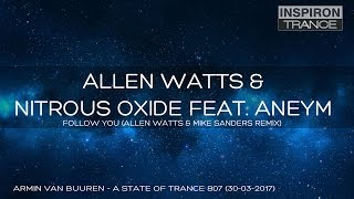Allen Watts & Nitrous Oxide Feat. Aneym - Follow You (Allen Watts & Mike Sanders Remix)