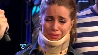 Showmatch 2012 - Florencia Peña explicó lo ocurrido en la práctica del cuarto giratorio