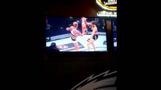 Ronda rousy getting knocked out