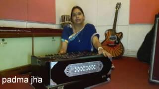 Piya mora balak || Vidyapati geet || By Padma Jha ||