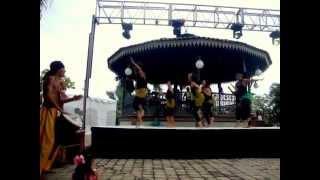 Kuku y Tiriba- danza y música africana en LATIN FEST Aug. 2014. QUILOMBO BUCERÍAS.