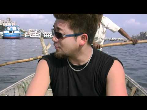 アキーラさんクルーズ!バングラデッシュ・ダッカの川1!Dahka,Bangladesh
